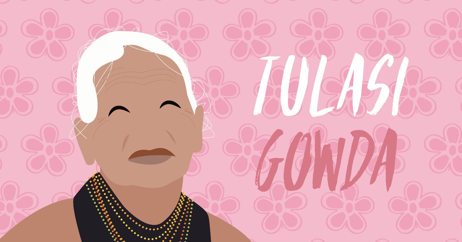 Tulasi Gowda è il suo nome