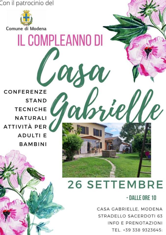 Compleanno di Casa Gabrielle